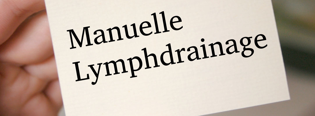 Manuelle Lymphdrainage mit MLD Therapeuten